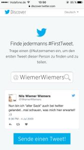 First-Tweet-Nils-echt-Deutsch