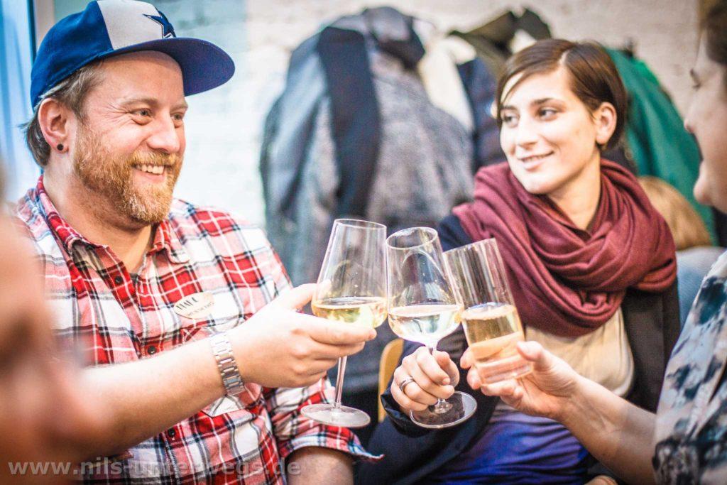 Berliner Foodblogger beim zuprosten