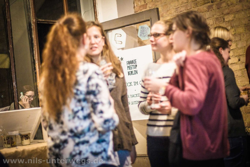 Foodblogger im Austausch auf dem Foodiemeetup Berlin